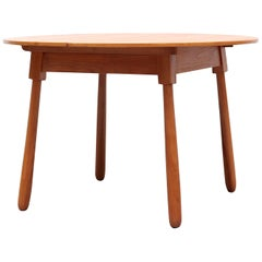 Swedish Dining Table with Baseball Bat Legs