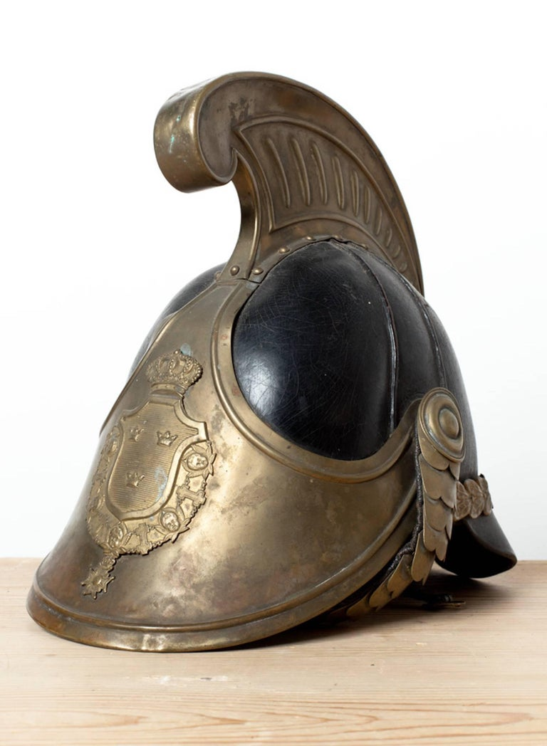 Swedish Dragoon Jousting Helmet, Origin Sweden, circa 1800 For Sale 1