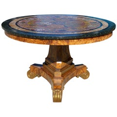 Swedish Empire Center Table