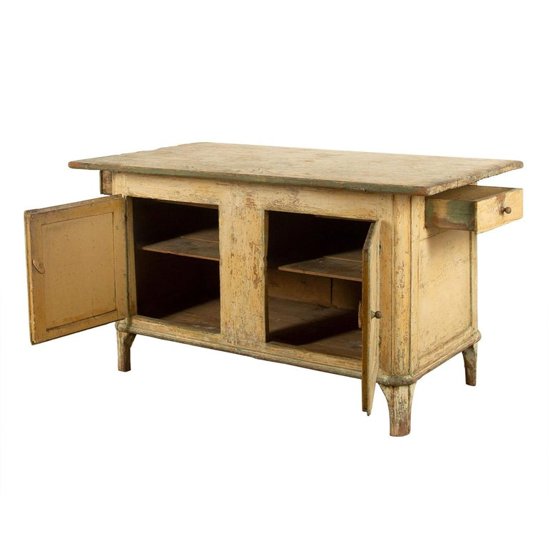 Swedish Empire Workbench In Good Condition For Sale In Tetbury, Gloucestershire