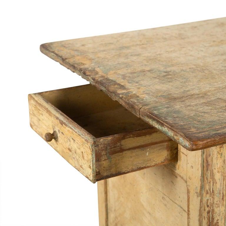 Wood Swedish Empire Workbench For Sale