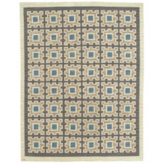 Swedish Flat-Weave Rug by Edna Martin