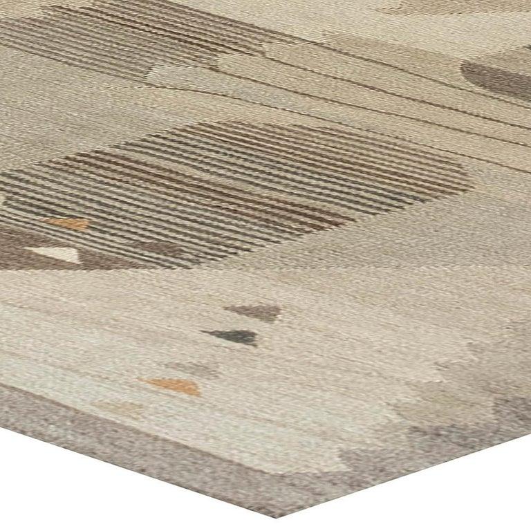 Swedish Flat-Weave Rug For Sale 1