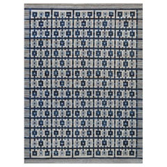 Swedish-Inspired Flat-Weave Rug