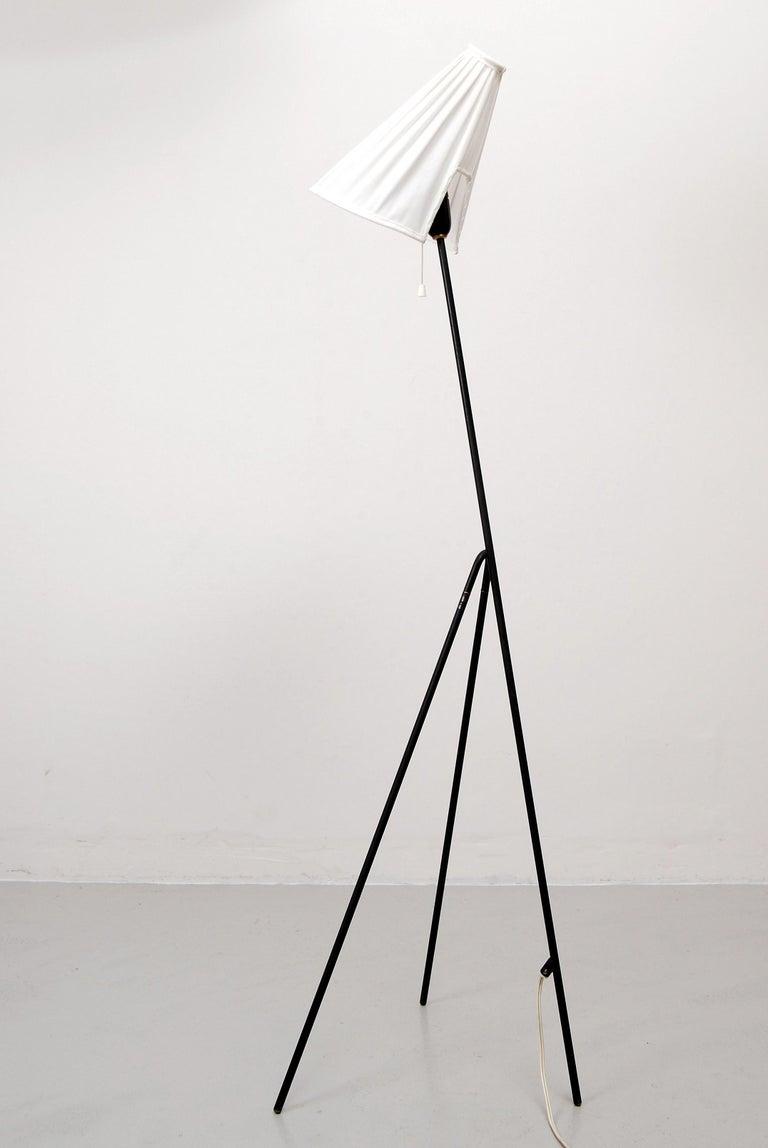 Scandinavian Modern  Swedish Floor Lamp by Hans Bergström for Ateljé Lyktan For Sale