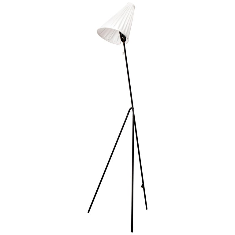 Swedish Floor Lamp by Hans Bergström for Ateljé Lyktan For Sale