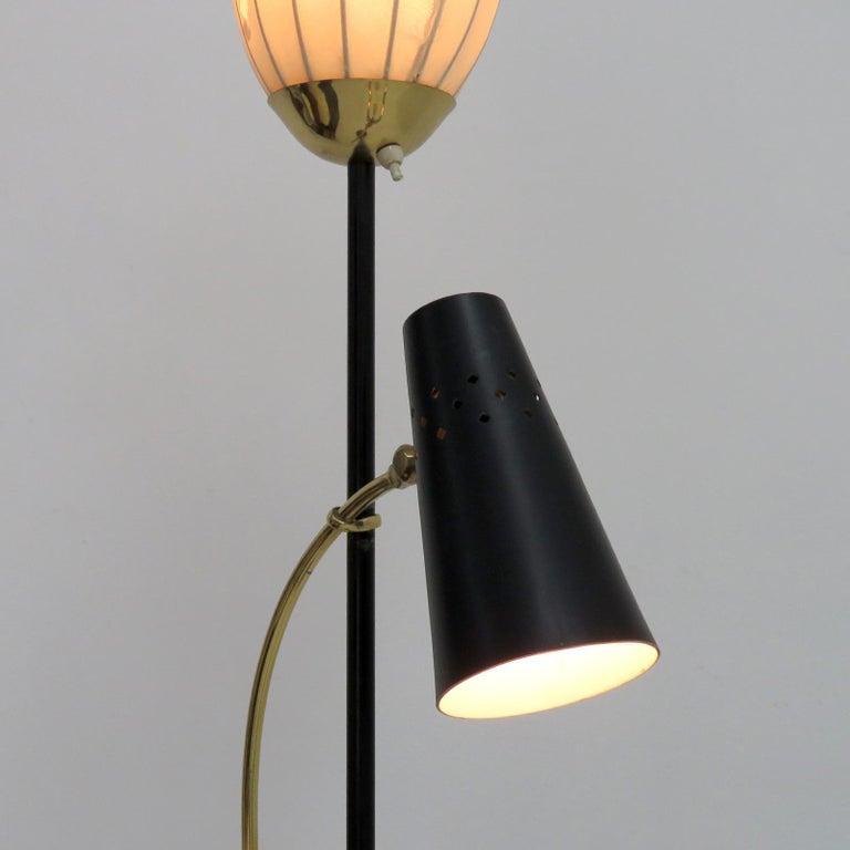 Swedish Floor Lamp by Hans Bergström For Sale 3