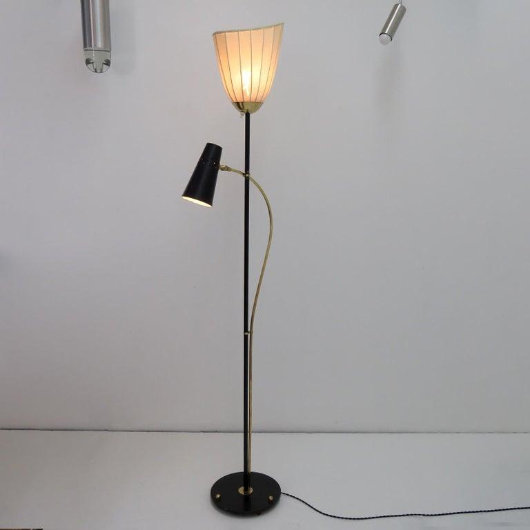 Swedish Floor Lamp by Hans Bergström For Sale 1