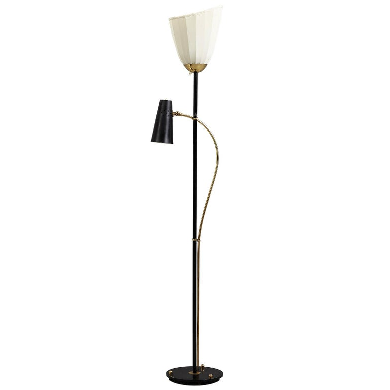 Swedish Floor Lamp by Hans Bergström For Sale