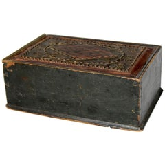 Swedish Folk Art Wedding Box, Late 18th Century