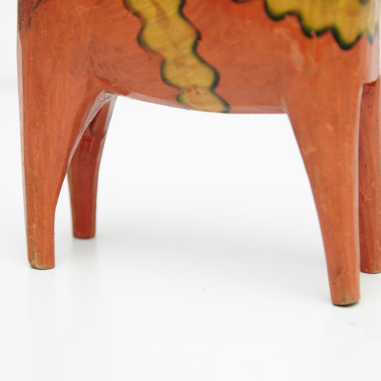 Swedish Folk Wooden Horse Toy, circa 1920 For Sale 1