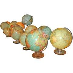 Swedish & German Glass Globes