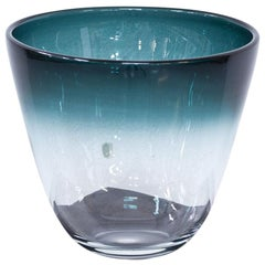 Swedish Glass Bowl by Bengt Orup, 1950s