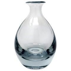 Swedish Glass Vase by Strombergshyttan