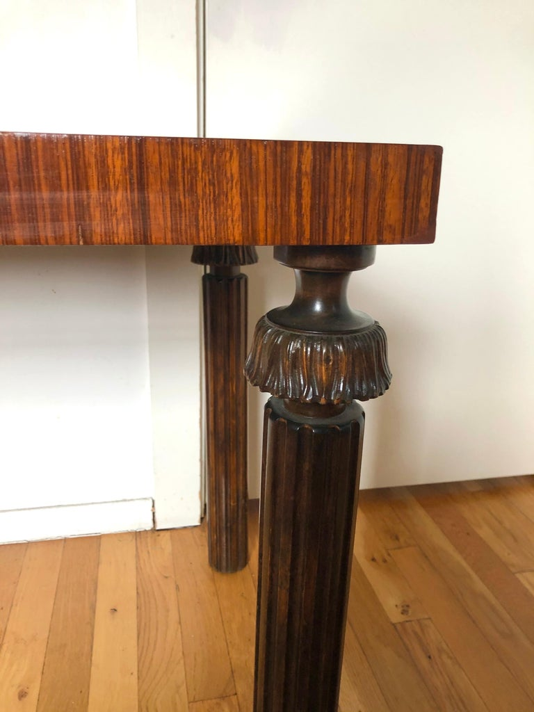 Art Deco Swedish Grace Period Console or Sofa Table by Reiners Möbelfabrik For Sale