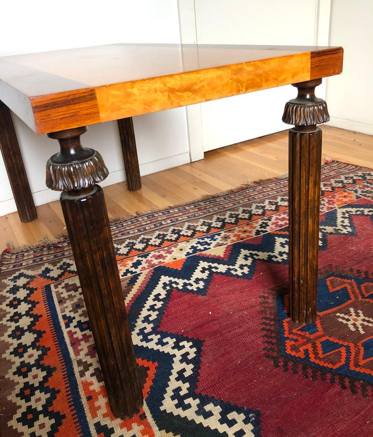 Swedish Grace Period Console or Sofa Table by Reiners Möbelfabrik In Good Condition For Sale In Brooklyn, NY