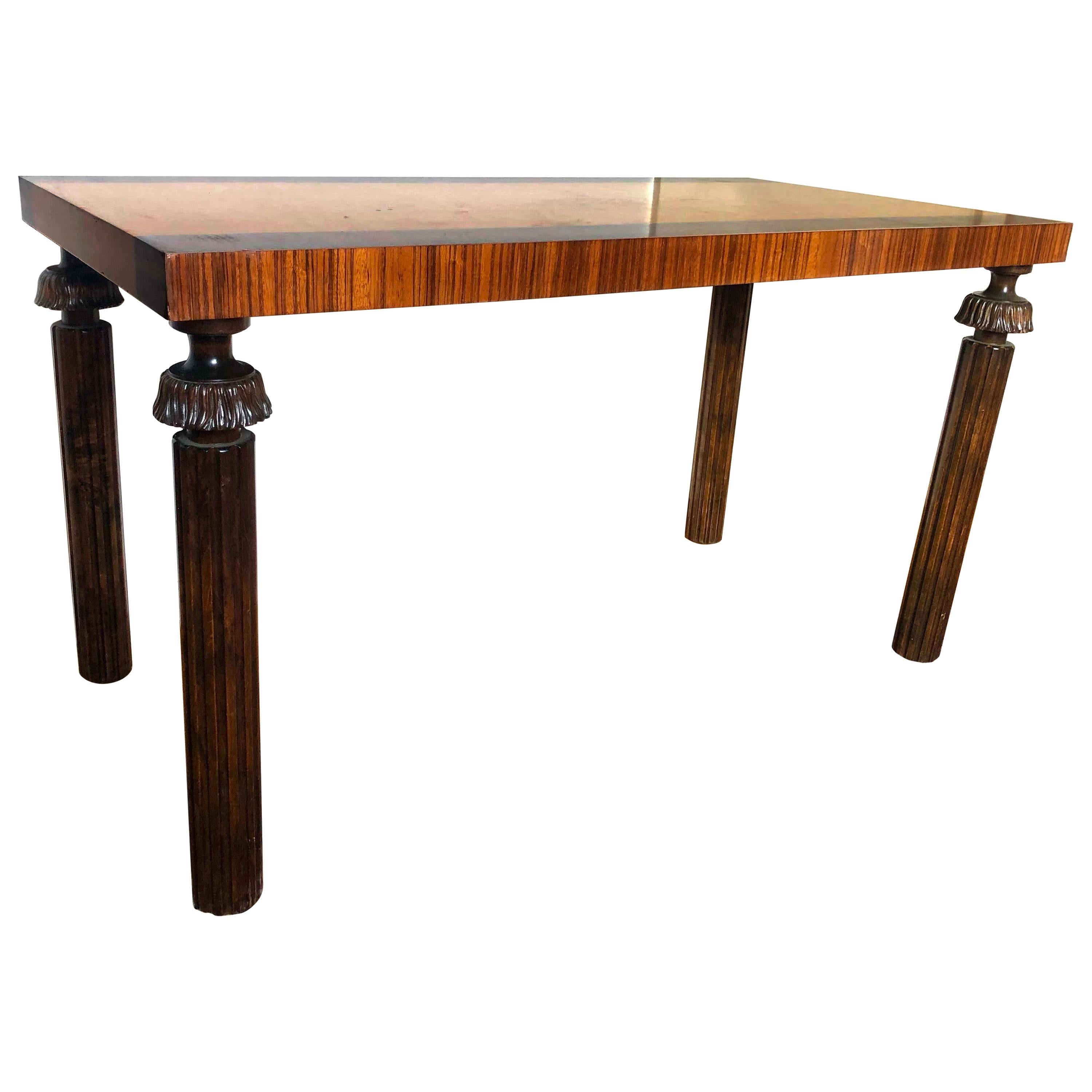 Swedish Grace Period Console or Sofa Table by Reiners Möbelfabrik