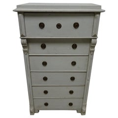 Swedish Gustavian 6-Drawer Chest
