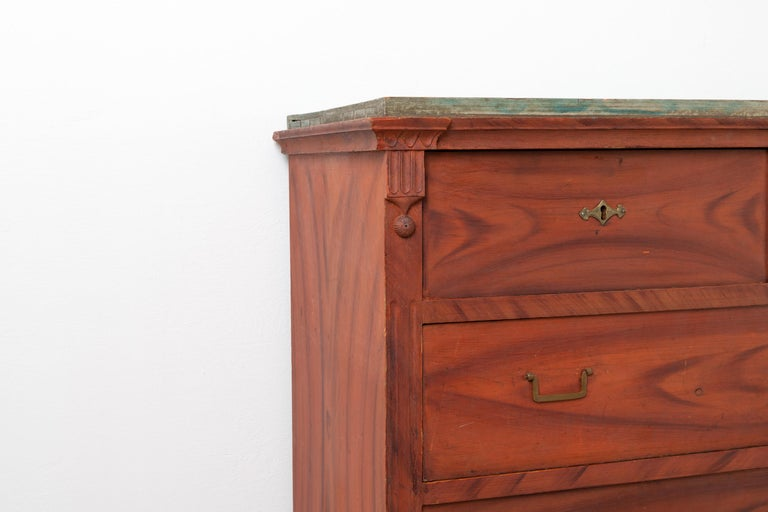Swedish Gustavian and Empire Chest of Drawers For Sale 5
