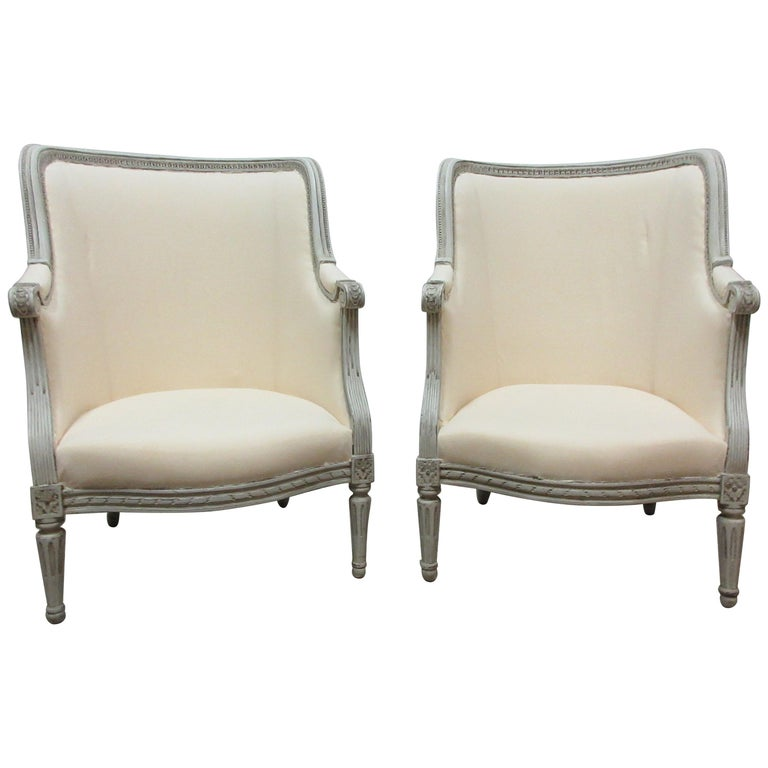 Swedish Gustavian Berger Chairs For Sale