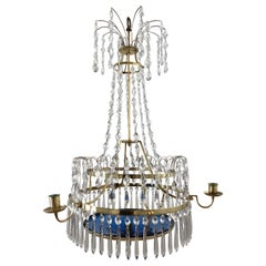 Swedish Gustavian Chandelier Made circa 1800