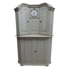 Gustavian Case Pieces and Storage Cabinets