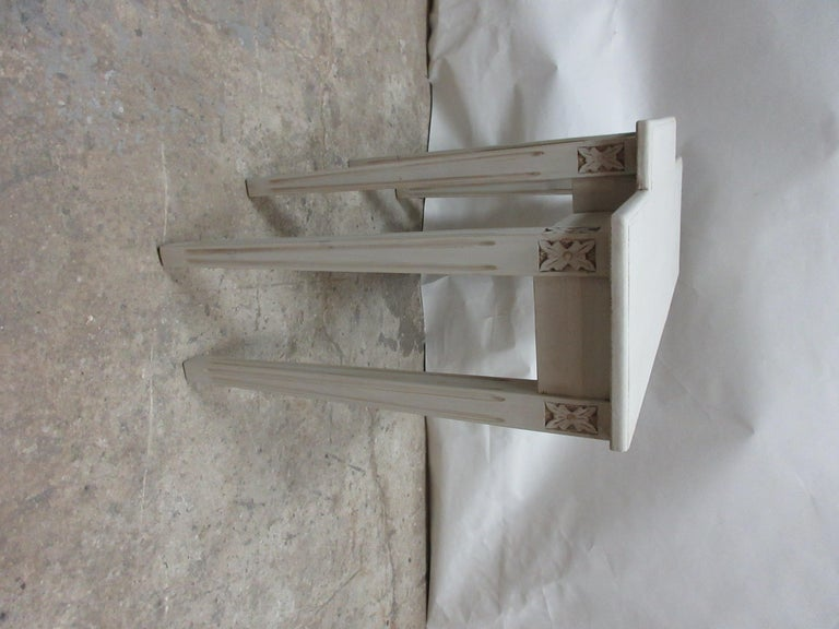 This is a new made Swedish Gustavian console table from Sweden.