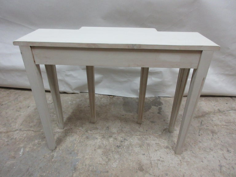 Swedish Gustavian Console Table In New Condition For Sale In Hollywood, FL