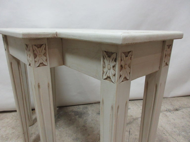 Mid-20th Century Swedish Gustavian Console Table For Sale