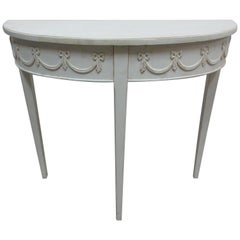 Swedish Gustavian Console Table