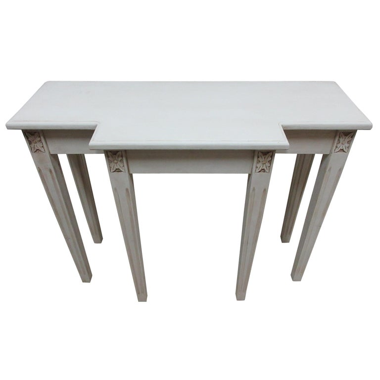 Swedish Gustavian Console Table For Sale
