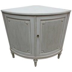 Swedish Gustavian Corner Cabinet