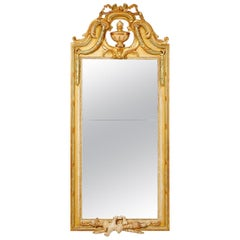 Swedish Gustavian Mirror, 18th Century Signed Johan Åkerblad, Stockholm