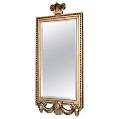 Swedish Gustavian Mirror, Made in Stockholm, IÅ, Johan Åkerblad '1758-1799'