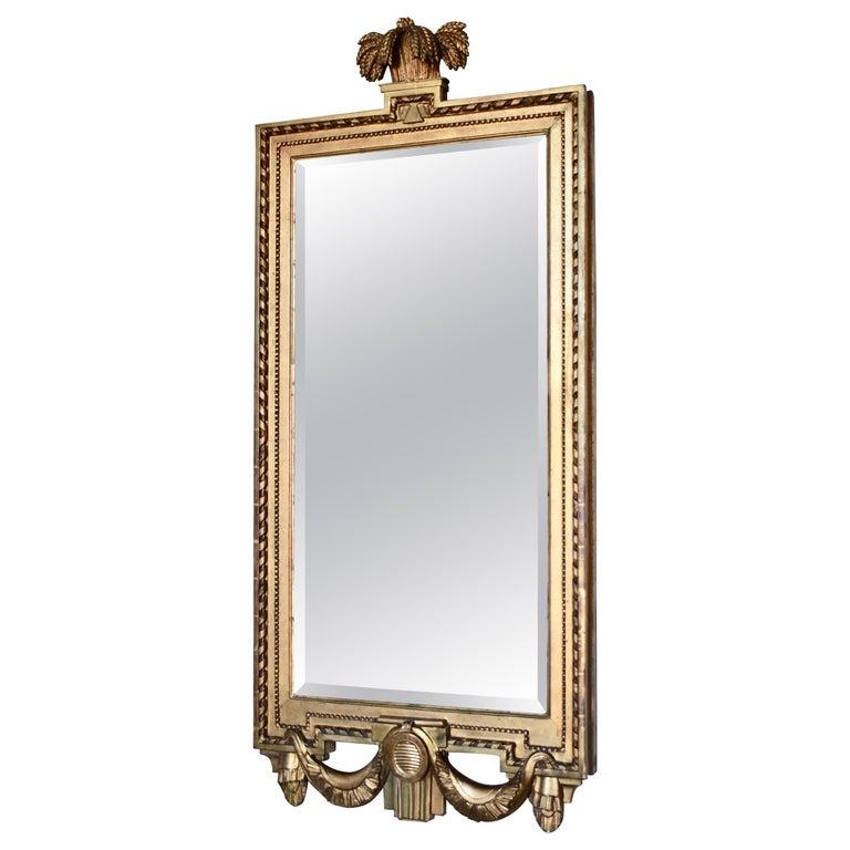 Swedish Gustavian Mirror, Made in Stockholm, IÅ, Johan Åkerblad '1758-1799' For Sale