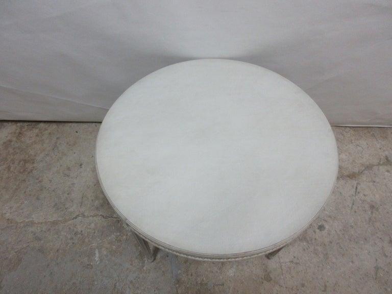 Birch Swedish Gustavian Oval Table For Sale