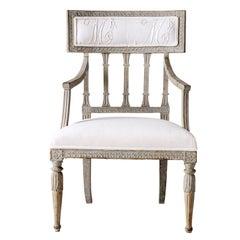 Swedish Gustavian Period Armchair, circa 1790