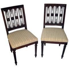 Swedish Gustavian Period Chair Pair
