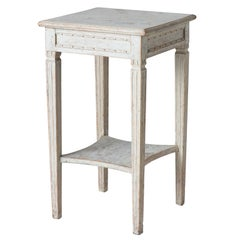 Swedish Gustavian Period Two-Tier Table, circa 1780