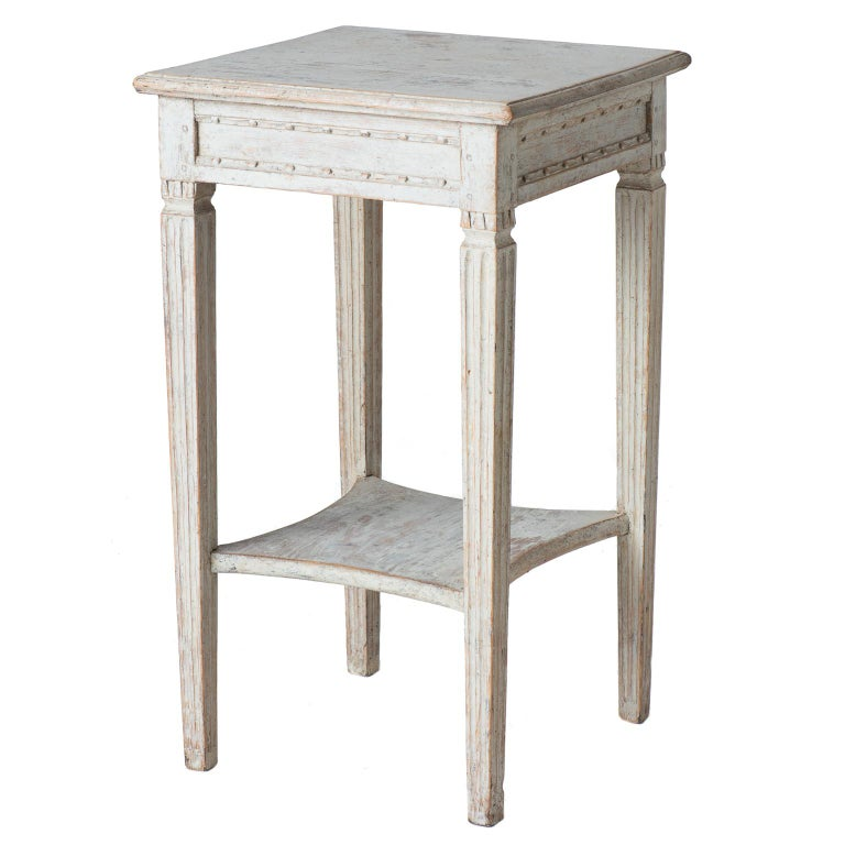 Swedish Gustavian Period Two-Tier Table, circa 1780 For Sale