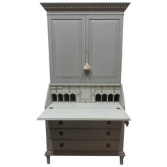 Swedish Gustavian Secretary Hutch