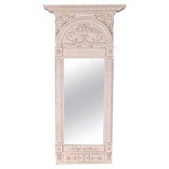 Swedish Gustavian Style Carved Mirror