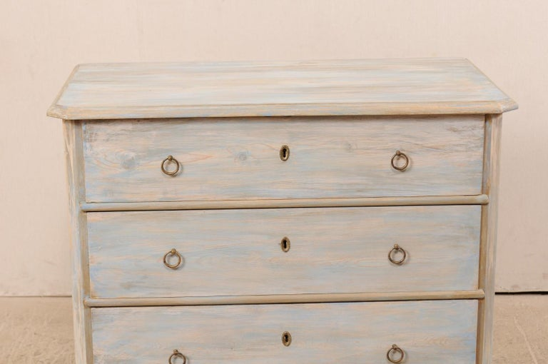 Swedish Gustavian Style Chest, 19th Century In Good Condition For Sale In Atlanta, GA