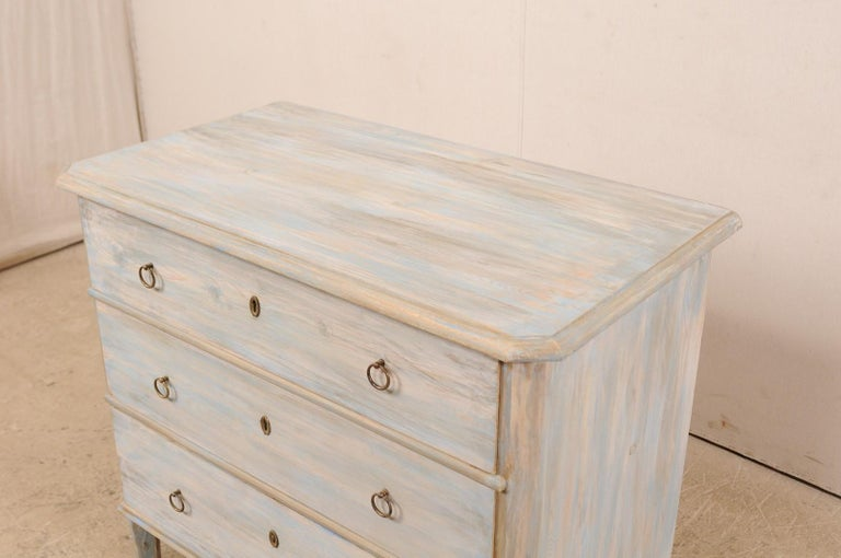 Swedish Gustavian Style Chest, 19th Century For Sale 1