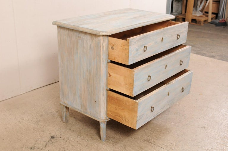 Swedish Gustavian Style Chest, 19th Century For Sale 4