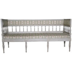 Swedish, Gustavian Style Sofa, 19th Century