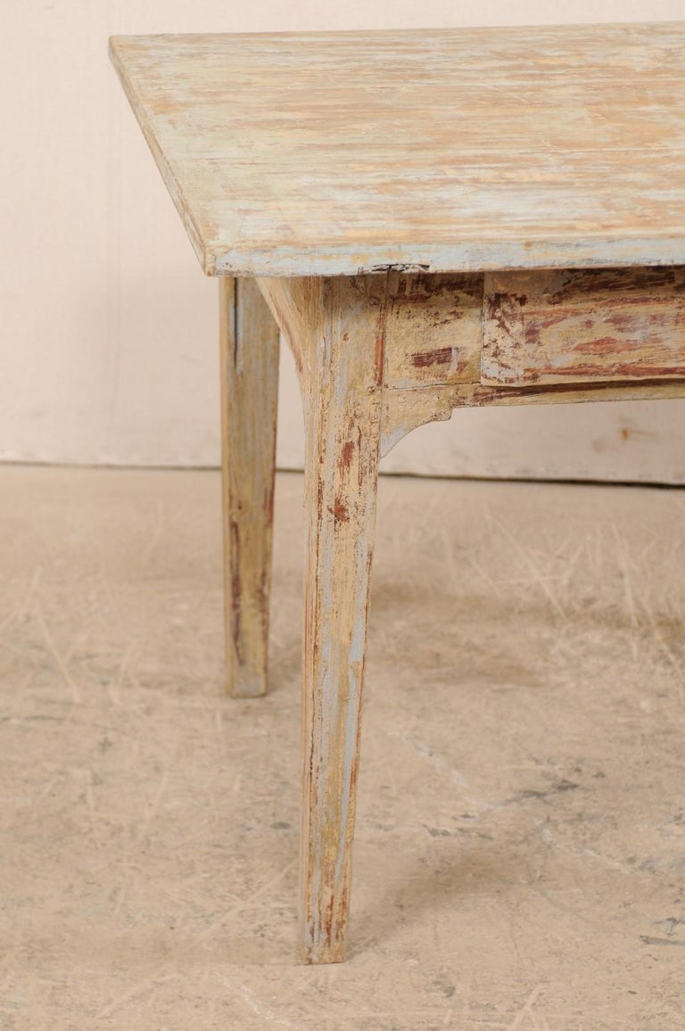 Swedish Gustavian Table, 19th Century For Sale 1