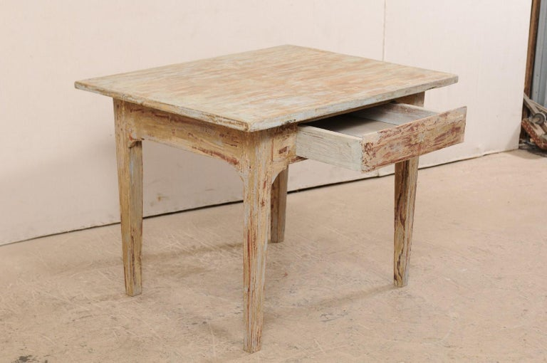 Swedish Gustavian Table, 19th Century For Sale 2