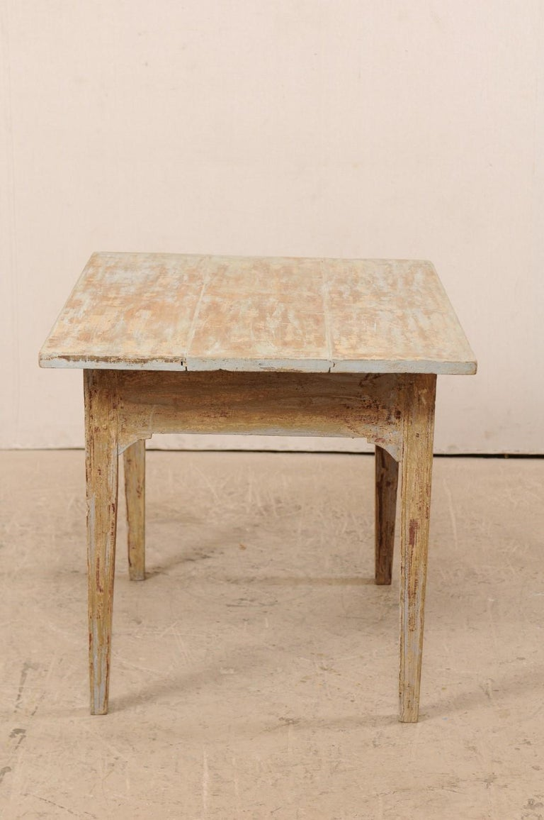 Swedish Gustavian Table, 19th Century For Sale 4