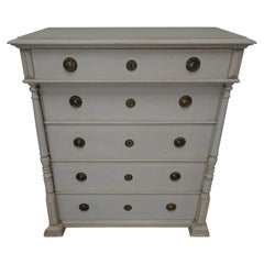 Swedish Gustavian Tall Chest
